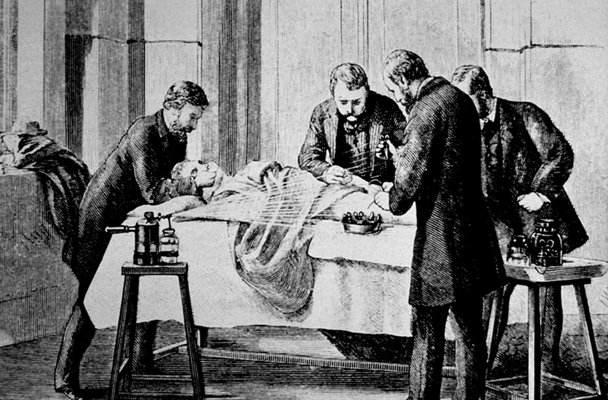 doctor autopsy 19th century 1800s