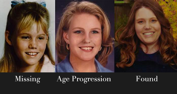 jaycee dugard missing found age progression photo