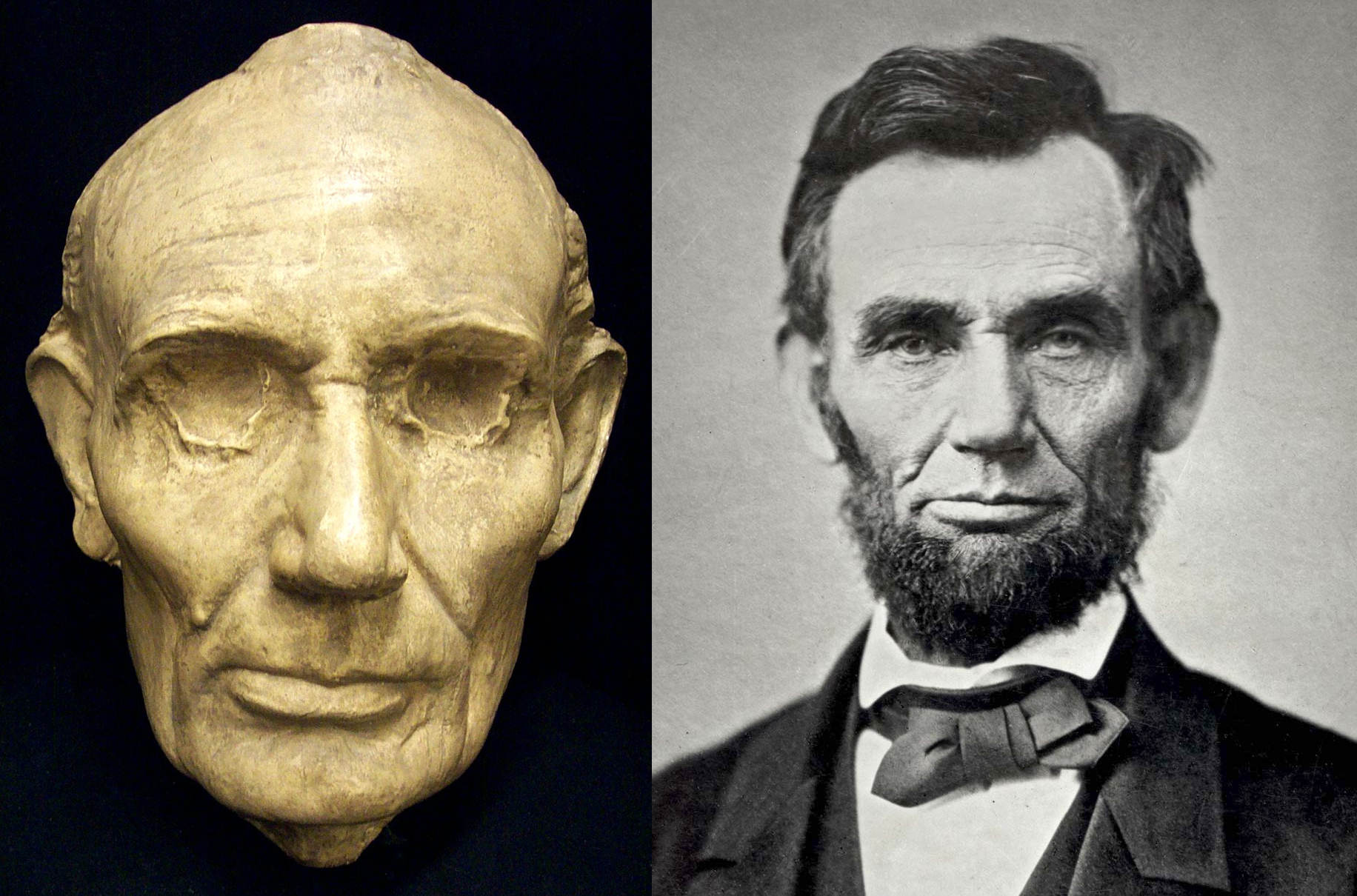abraham lincoln death masks president assassination