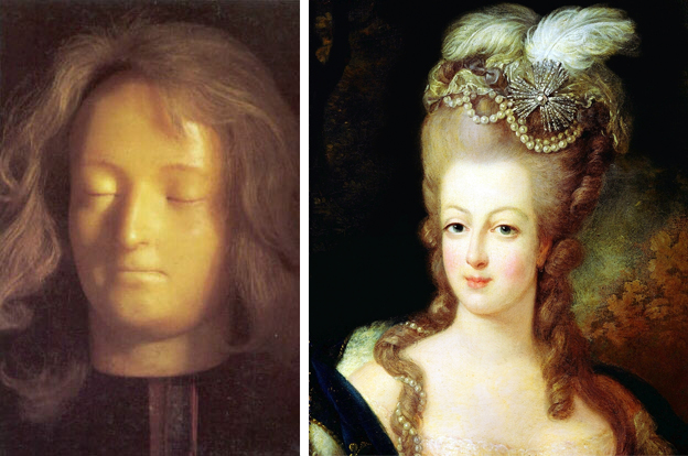 marie antoinette death mask queen of france beheaded