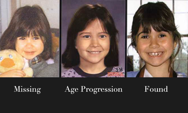 sara Eghbal-brin missing found france age progression