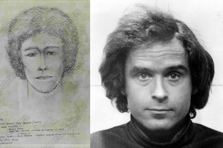 ted bundy composite sketches