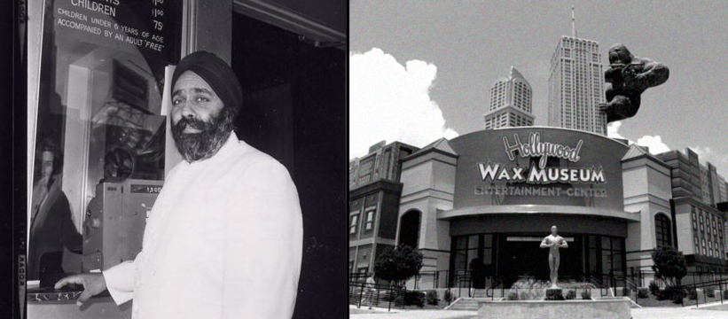 spoony singh hollywood wax museum vintage