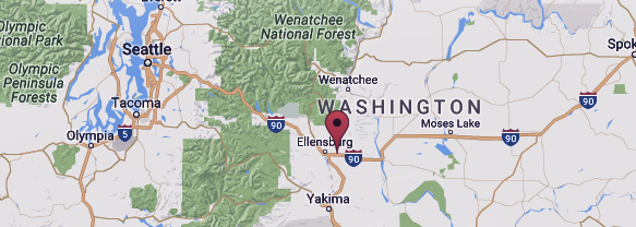 Kittitas washington map
