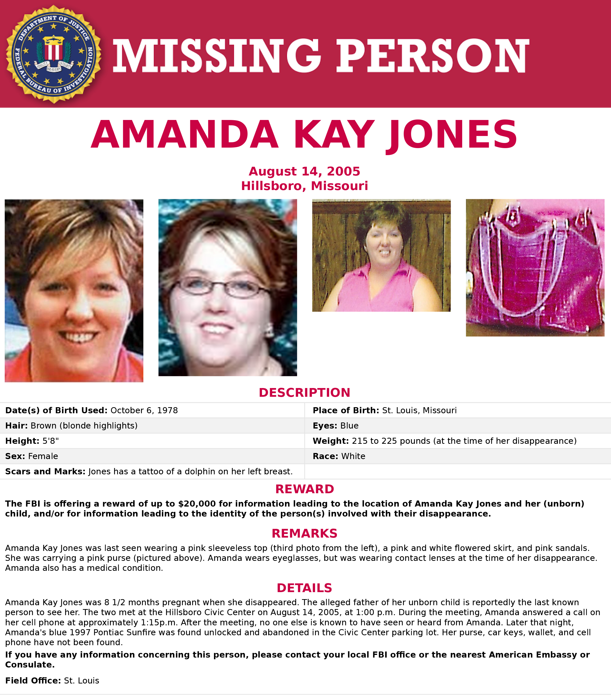 missing poster amanda kay jones