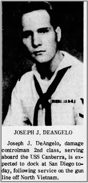 joseph james deangelo navy auburn